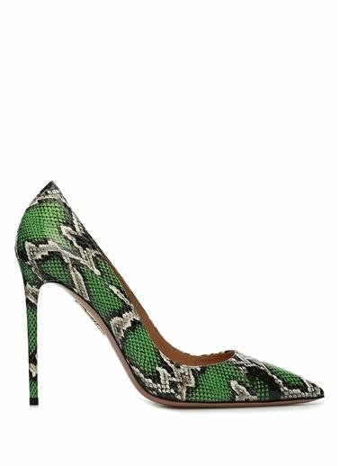 Aquazzura Ayakkabı Yeşil